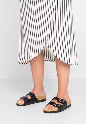 WIDE FIT HOTLY - Mules - black