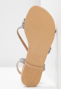 New Look Wide Fit - WIDE FIT FIAMOND - Sandály - mid grey - 6