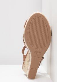 New Look Wide Fit - WIDE FIT POTTER - Sandály na vysokém podpatku - tan - 6