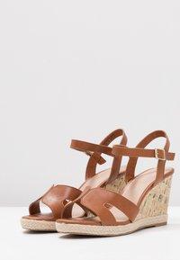 New Look Wide Fit - WIDE FIT POTTER - Sandály na vysokém podpatku - tan - 4