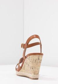 New Look Wide Fit - WIDE FIT POTTER - Sandály na vysokém podpatku - tan - 5