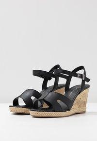 New Look Wide Fit - WIDE FIT POTTER - Korolliset sandaalit - black - 4