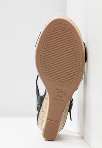 New Look Wide Fit - WIDE FIT POTTER - Korolliset sandaalit - black - 6