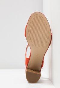 New Look Wide Fit - WIDE FIT PASS - Sandały na obcasie - orange - 6