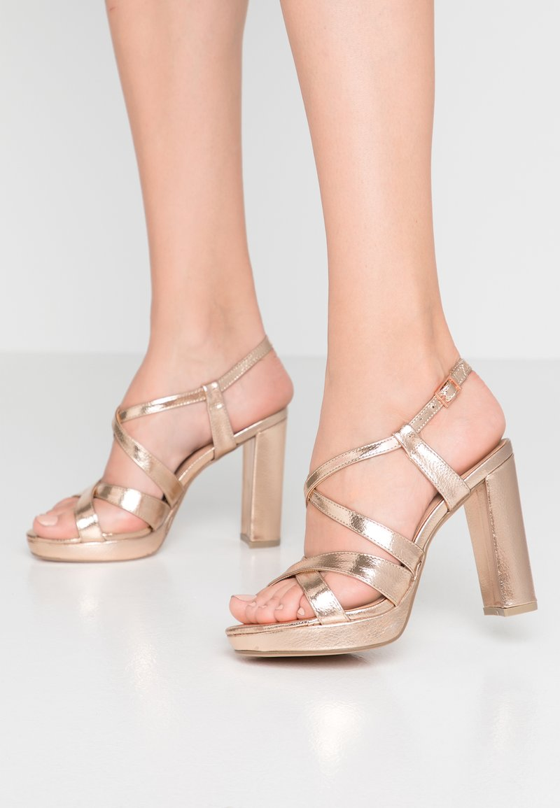 New Look Wide Fit - WIDE FIT SIENNA - High Heel Sandalette - rose gold