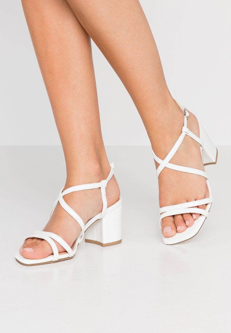 New Look Wide Fit - WIDE FIT TACHO - Brudesko - white