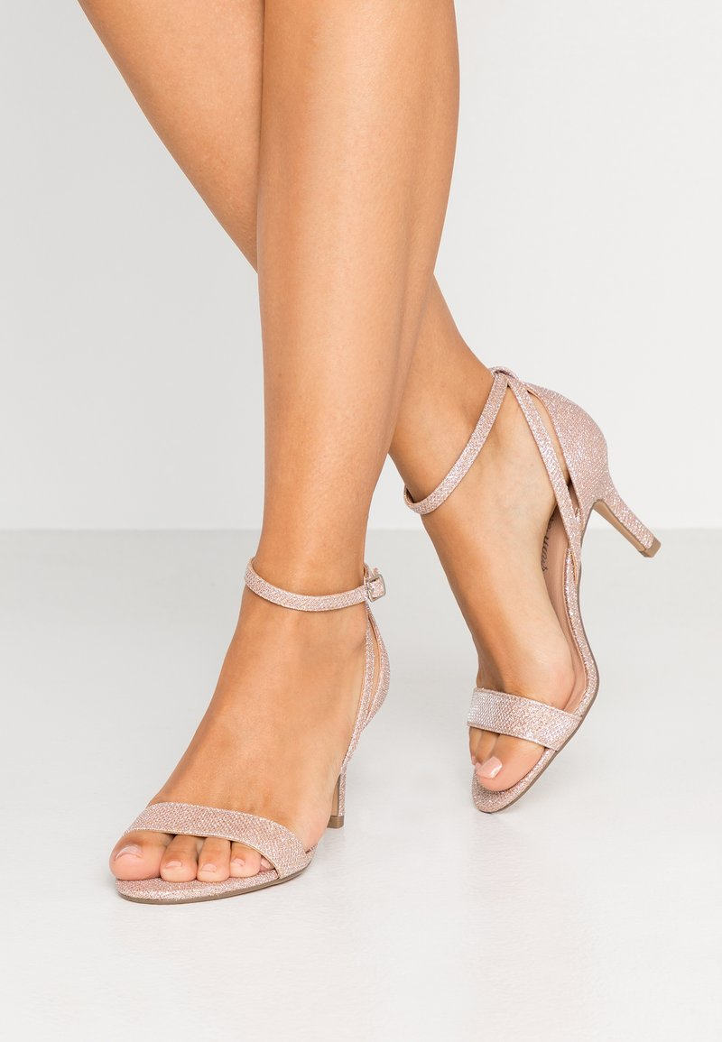 New Look Wide Fit - WIDE FIT TRINNY - Sandals - rose gold