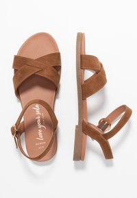 New Look Wide Fit - WIDE FIT GOODIE - Sandales - tan - 3