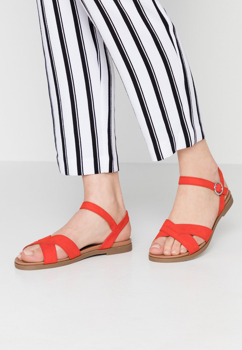 New Look Wide Fit - WIDE FIT GOODIE - Sandaler - bright red