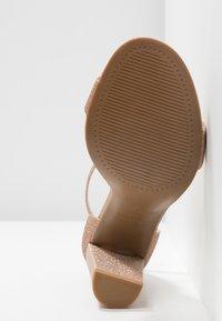 New Look Wide Fit - WIDE FIT TARONA  - Sandály na vysokém podpatku - rose gold - 6