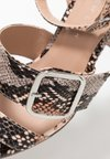 New Look Wide Fit - WIDE FIT SLITHER - High heeled sandals - pink