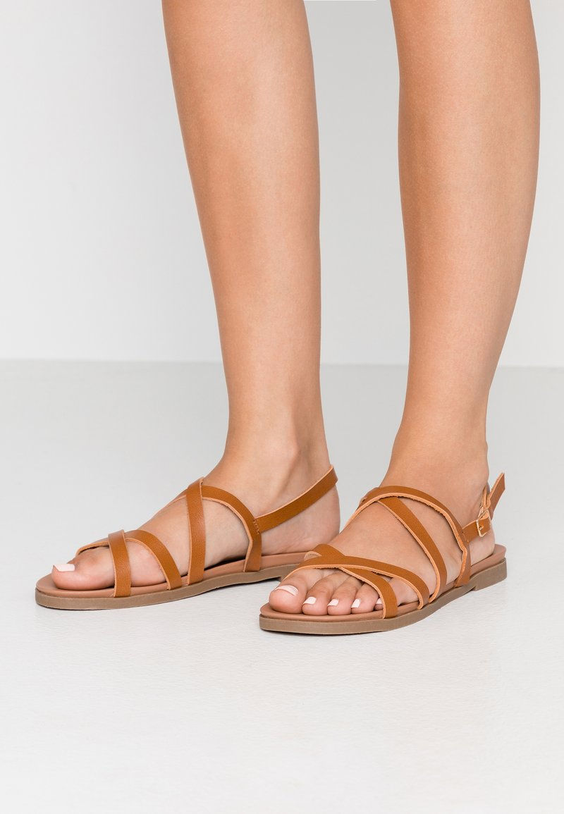 New Look Wide Fit - WIDE FIT GLORY - Sandaler - tan