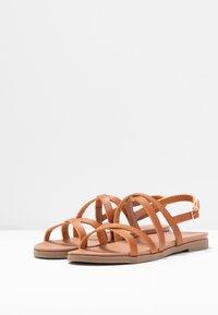 New Look Wide Fit - WIDE FIT GLORY - Sandaler - tan - 4