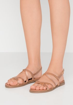WIDE FIT GLORY - Sandály - rose gold