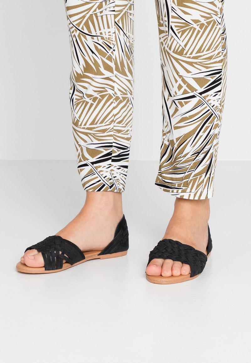 New Look Wide Fit - WIDE FIT GEAVE - Sandali - black