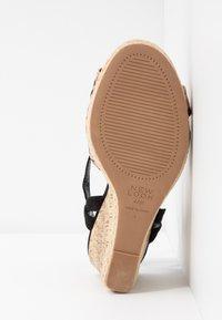 New Look Wide Fit - WIDE FIT PLOWER  - Sandály na vysokém podpatku - stone - 6