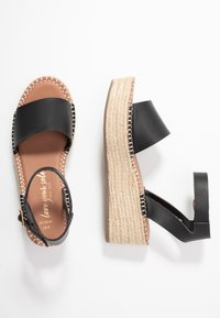 New Look Wide Fit - WIDE FIT POPPINS - Sandales à plateforme - black - 3