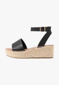 New Look Wide Fit - WIDE FIT POPPINS - Sandales à plateforme - black - 1