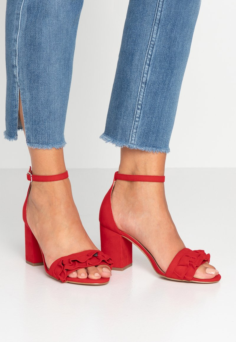New Look Wide Fit - WIDE FIT TRILLS - Sandaler - bright red