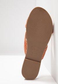 New Look Wide Fit - WIDE FIT FIZZ - Sandaler - rust - 6