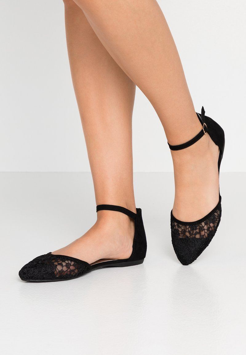 New Look Wide Fit - WIDE FIT JARMING - Riemchenballerina - black