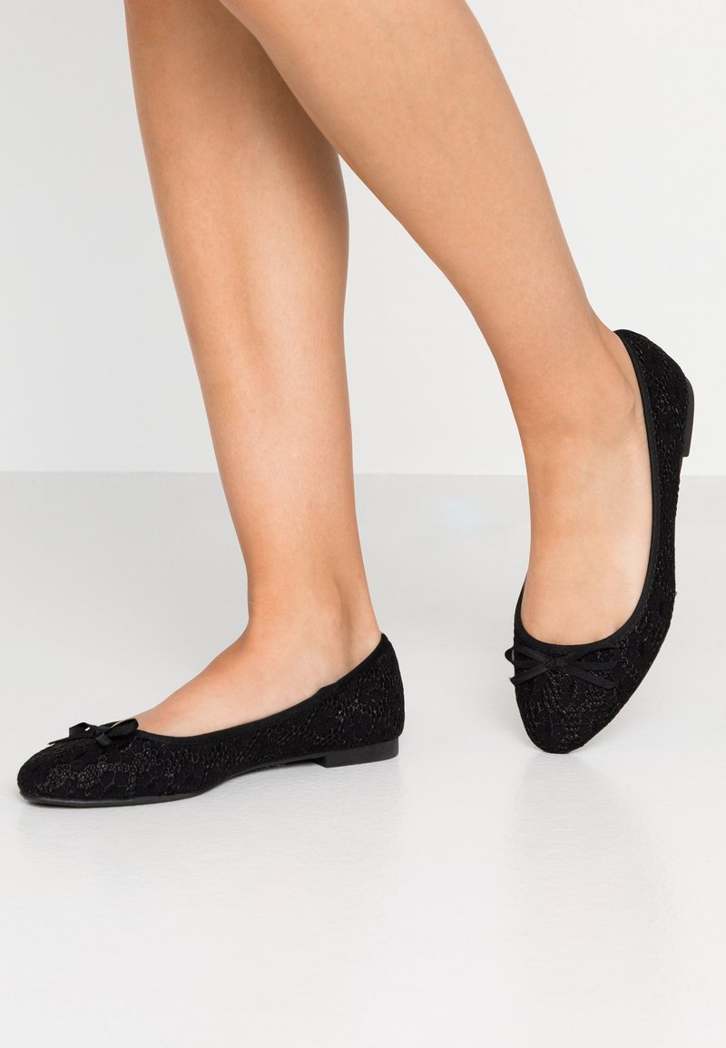 New Look Wide Fit - WIDE FIT KOS - Ballet pumps - black