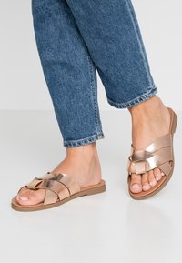 New Look Wide Fit - WIDE FIT HOTTIE  - Mules - rose gold - 0