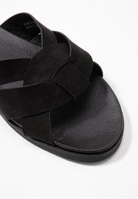 New Look Wide Fit - WIDE FIT HOTTIE - Pantofle - black - 2