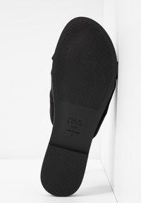 New Look Wide Fit - WIDE FIT HOTTIE - Pantofle - black - 6
