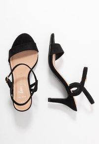 New Look Wide Fit - WIDE FIT TRINITY - Sandali - black - 3