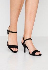 New Look Wide Fit - WIDE FIT TRINITY - Sandali - black - 0