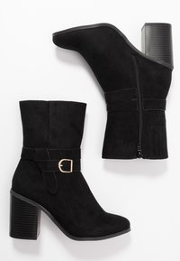 New Look Wide Fit - WIDE FIT DAY - Botines - black - 3