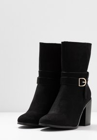 New Look Wide Fit - WIDE FIT DAY - Botines - black - 4