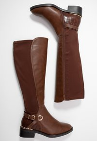 New Look Wide Fit - WIDE FIT DELTA - Boots - tan - 2