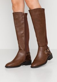 New Look Wide Fit - WIDE FIT DELTA - Boots - tan - 0