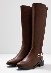 New Look Wide Fit - WIDE FIT DELTA - Boots - tan - 3