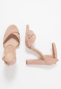 New Look Wide Fit - WIDE FIT TAMPA  - High heeled sandals - oatmeal - 3