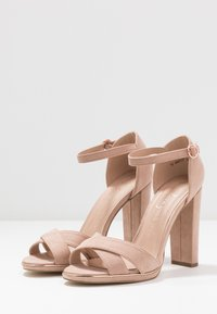 New Look Wide Fit - WIDE FIT TAMPA  - High heeled sandals - oatmeal - 4