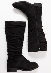 New Look Wide Fit - WIDE FIT COUCH - Laarzen - black - 3