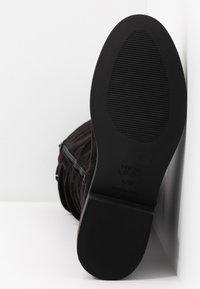New Look Wide Fit - WIDE FIT COUCH - Laarzen - black - 6