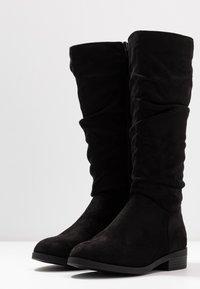 New Look Wide Fit - WIDE FIT COUCH - Laarzen - black - 4