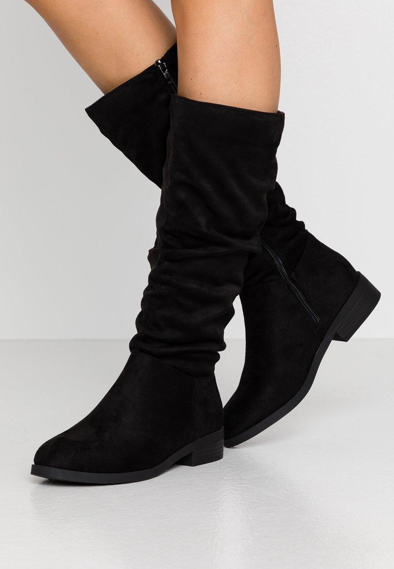 New Look Wide Fit - WIDE FIT COUCH - Laarzen - black
