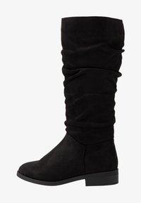 New Look Wide Fit - WIDE FIT COUCH - Laarzen - black - 1