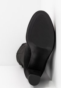 New Look Wide Fit - WIDE FIT BARTY - Botas de tacón - black - 6