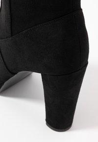 New Look Wide Fit - WIDE FIT BARTY - Botas de tacón - black - 2