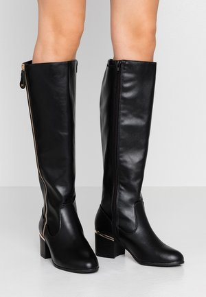WIDE FIT CATRINA - Stiefel - black
