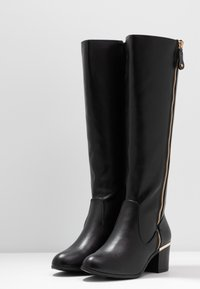 New Look Wide Fit - WIDE FIT CATRINA - Boots - black - 4