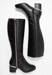 New Look Wide Fit - WIDE FIT CATRINA - Boots - black - 3