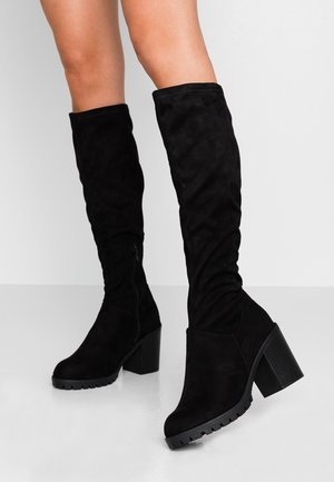WIDE FIT EVE - Boots - black