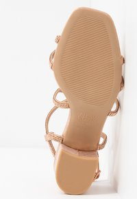 New Look Wide Fit - WIDE FIT TACHING - Sandalias - rose gold - 5